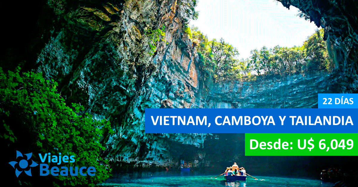 Tour Vietnam, Camboya y Tailandia - 22 Días