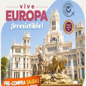 VIVE EUROPA ¡ Irresistible! con Viajes BEAUCE !!!