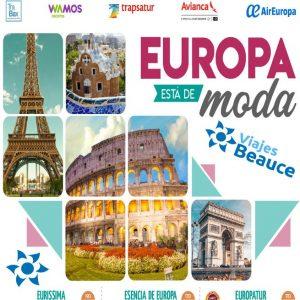 Europa esta de moda con Viajes BEAUCE, espera por ti!!