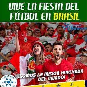 Vive la Fiesta del Fútbol en Brasil con Viajes BEAUCE!!!