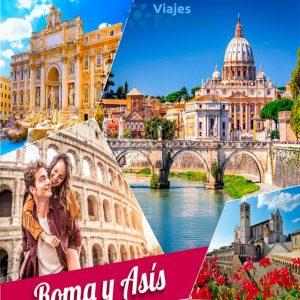 Disfruta de la Bella Roma y Asís con Viajes BEAUCE..