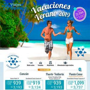 Disfrutas de unas Vacaciones de verano 2019 con Viajes BEAUCE….