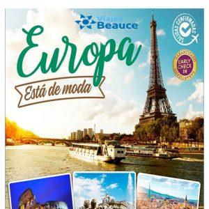 Disfruta de las belleza de ¡Europa esta de moda! con Viajes BEAUCE..