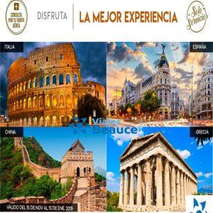 Disfruta de la mejor experiencia por Europa el y Lejano y Medio Oriente con Viajes BEAUCE.