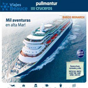 Mil Aventuras en alta mar en el mejore crucero con Viajes BEAUCE..