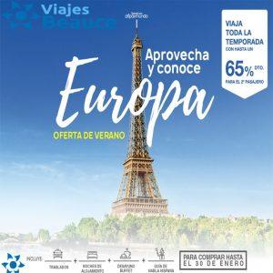 Aprovecha y conoce la Bella Europa con Viajes BEAUCE..
