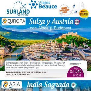 Los mejores destino de Europa y Asia te lo ofrece Viajes BEAUCE..