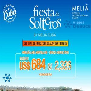 Disfruta de la mejor Fiesta de Solteros en Cuba con Viajes BEAUCE..