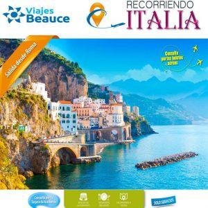 Te invitamos que Recorras la bella Italia con Viajes BEAUCE.