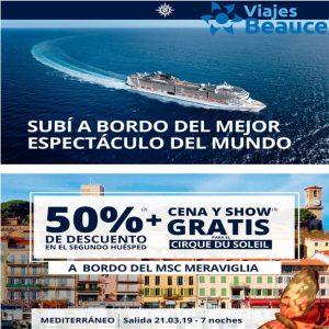 Te invitamos a ¡SUBIR A BORDO DEL MEJOR ESPECTÁCULO DEL MUNDO! con Viajes BEAUCE..