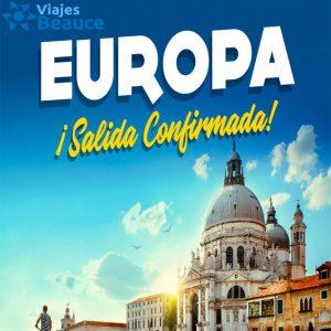 Disfruta de la bella Europa con ¡salida confirmada! con Viajes BEAUCE….