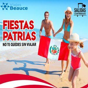 Viajes BEAUCE te ofrece que disfrute de tus fiestas patria en el Caribe te esperamos!!!