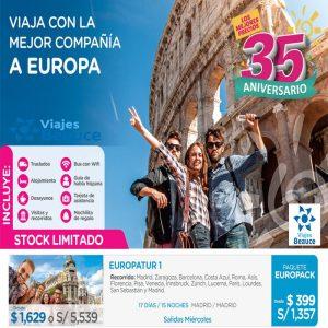 ¡Sorprenda a Su Pareja con Nuestra Oferta del Día de los Enamorados! para Europa  con Viajes BEAUCE..