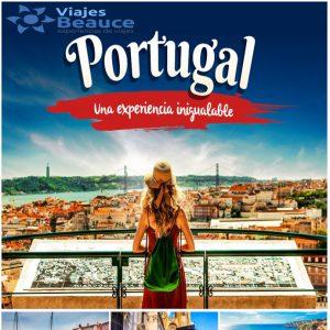¡PORTUGAL! espera por ti para que viva una experiencia inigualable con Viajes BEAUCE.