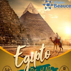 Disfruta de ¡EGIPTO! Ruta del Nilo con nosotros Viajes BEAUCE.