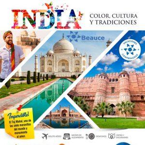 Viajes BEAUCE te ofrece que visites a la INDIA color, cultura y tradiciones.