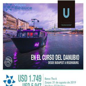Disfruta en el CURSO DEL DANUBIO desde Budapest a Regensburg con Viajes BEAUCE.