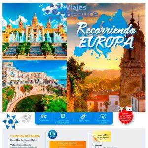 Recorriendo EUROPA!! Con tu agencia Viajes BEAUCE.