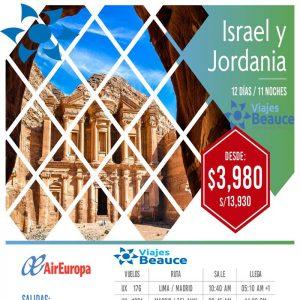 ¡ Aprovecha y visite ISRAEL Y JORDANIA! con Viajes BEAUCE..