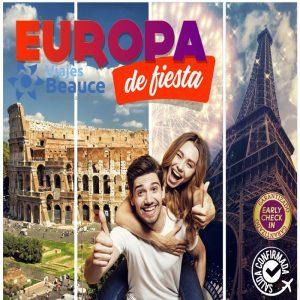 ¡Vive la navidad en ROMA y Año Nuevo en PARÍS! con EUROPA de Fiesta con Viajes BEAUCE.