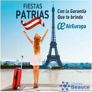 **¡Fiestas Patrias 2019! ¡Leyendas de Europa!** con Viajes BEAUCE.