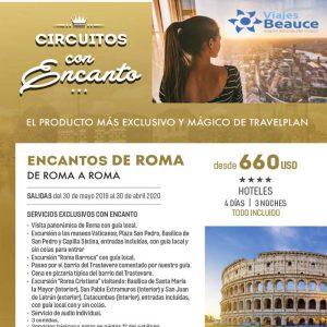 Disfruta de los mejores Circuitos con ENCANTO que te ofrece Viajes BEAUCE.