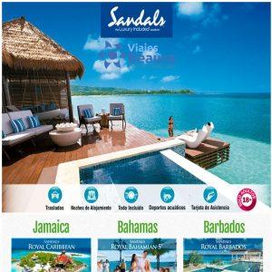 ¡Sandals – Todo Incluido, Todo Ilimitado, Todo el Tiempo!con Viajes BEAUCE.