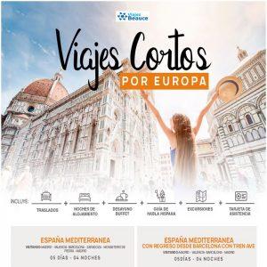 Disfruta de los  Viajes Cortos por Europa.. Reserva ahora! y te lo ofrece su agencia BEAUCE.
