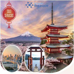 Japón tierra del sol naciente te la ofrece Viajes BEAUCE.