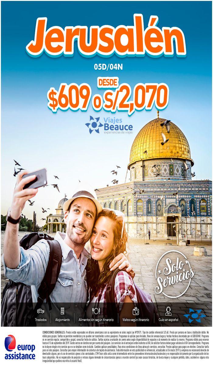 Las mejores oferta para JERUSALEN te la ofrece Viajes BEAUCE.