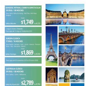 Te ofrecemos los mejores tours por Europa y el Medio Oriente con Viajes BEAUCE..