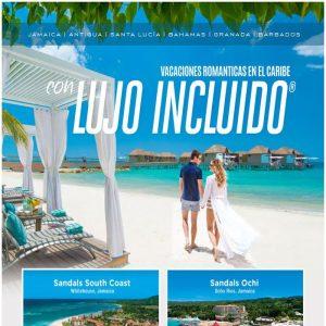 ¡Promoción Sandals Jamaica en Julio, Vacaciones Románticas en el Caribe con Lujo Incluido! con Viajes BEAUCE.