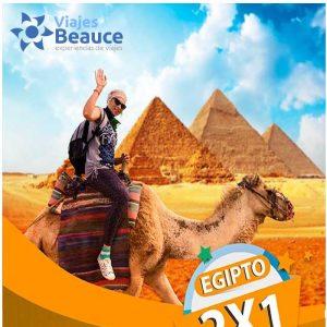 MEGA OFERTA 2X1 EGIPTO CLÁSICO con Viajes BEAUCE.