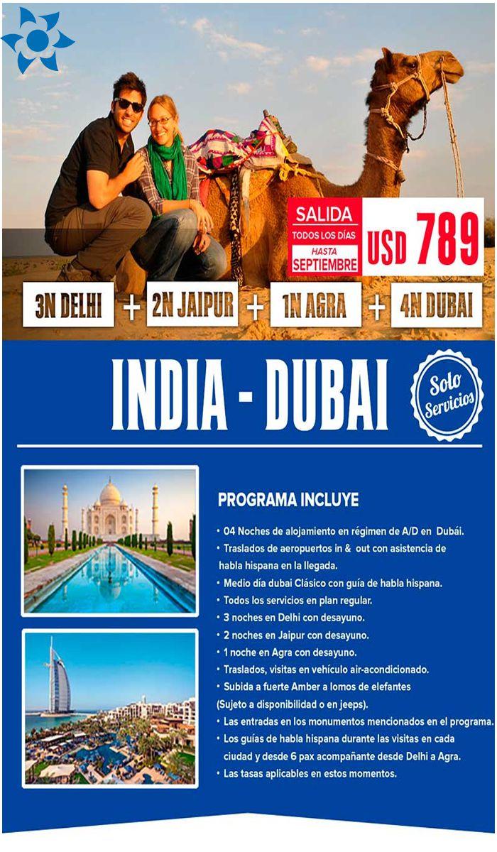 Disfruta de las belleza de la INDIA – DUBAI con Viajes BEAUCE.