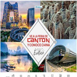 Ve a la feria de Cantón y conoce China – Modo Exótico con Viajes BEAUCE.