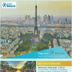 Disfruta de los siguiente tours para  EUROPA con Viajes BEAUCE..