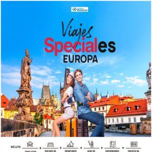 Te ofrecemos Viajes Speciales a Europa con nosotros Viajes BEAUCE..