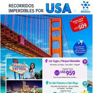 Recorridos imperdibles por USA con Viajes BEAUCE…