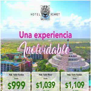 ¡LO MEJOR DE MÉXICO INCLUIDO EN HOTEL XCARET!,y te lo ofrece Viajes BEAUCE..