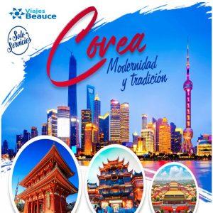 Visita Corea Modernidad y Tradición con tu agencia e Viajes BEAUCE.
