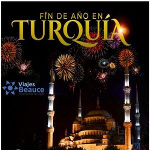 Fin de Año en Turquía con tu agencia e Viajes BEAUCE.