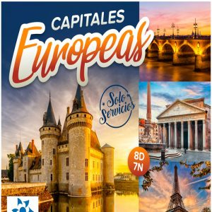 Disfruta de las Capitales Europeas que te ofrece Viajes BEAUCE.