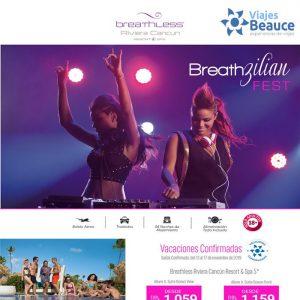 ¡¡Baila, Goza & Brilla en BREATHzilian Fest!! Con Viajes BEAUCE.