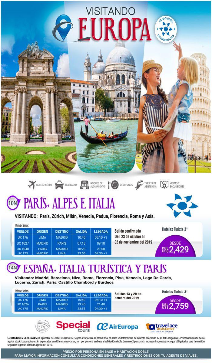 ¡No lo sueñes más! ¡Haz realidad tu viaje inolvidable a Europa con Viajes BEAUCE!