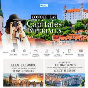 Conoce las capitales Imperiales más famosas Europa con Viajes BEAUCE.