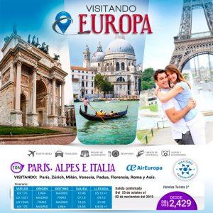 ¡Promos imperdibles para que disfrutes de Europa con Viajes BEAUCE.