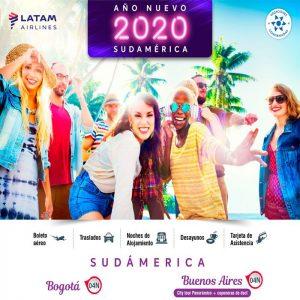 ¡Lo que esperabas! ¡Sudamérica… Año Nuevo 2020!con Viajes BEAUCE.