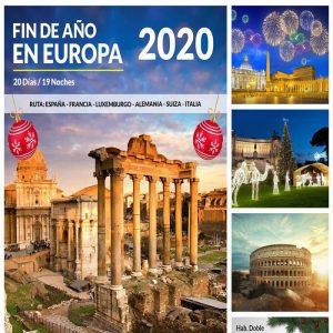 ALISTA LAS MALETAS ¡NAVIDAD Y AÑO NUEVO EN EUROPA! en compañía de Viajes BEAUCE.