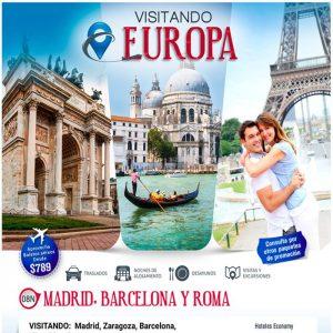 Disfruta de las bellezas de Europa  con Viajes BEAUCE.
