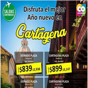 ¡EN FIN DE AÑO SE DISFRUTA DE LA RICA SALSA! en Cartagena con Viajes BEAUCE